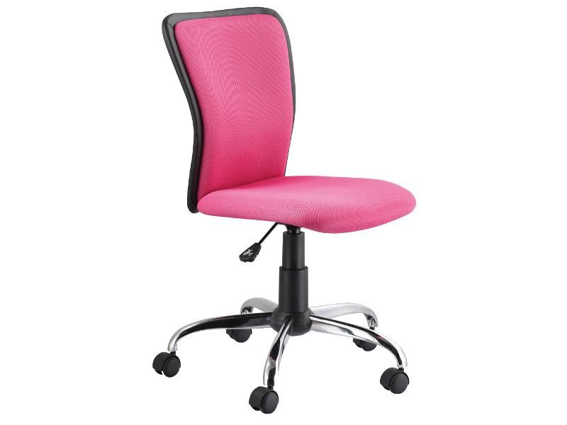Sedia da ufficio Q-099 Colore Rosa